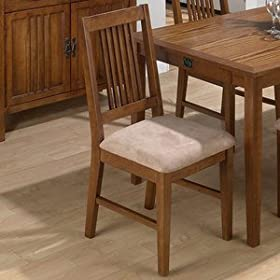 Mission Style Oak Dining Chair Chairs Dining Room Furniture