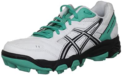 Asics Gel Lethal Mp5 Womens White/Black/Green Astro Trainer P280Y 0190 5 UK