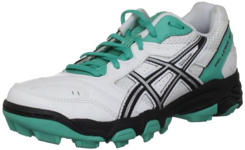 Asics Gel Lethal Mp5 Womens White/Black/Green Astro Trainer P280Y 0190 6 UK