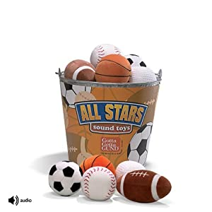 Gund All Star Plush Sound Golf Ball 4 In.