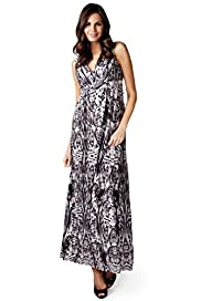 Per Una Crossover V-Neck Abstract Maxi Dress