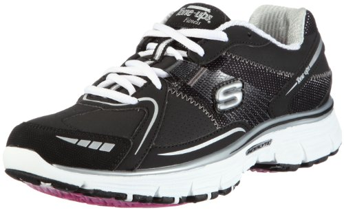Tone-Ups Fitness Women's Ready Set - Firm Black/White Training Shoes 11761 3 UK