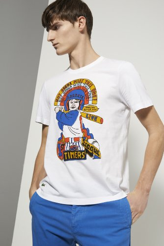 L!ve Short Sleeve Cotton Jersey First Timers Graphic T-shirt