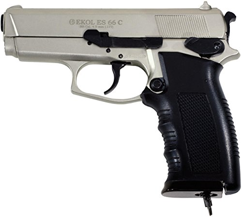 Ekol ES 66C Compact CO2 BB Pistol - Satin Finish from Voltran