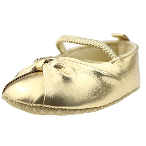 8. Orgrimmar Baby Girls Soft Sole Pu Toddler Shoes