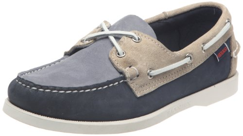 Sebago Unisex - Adults SPINNAKER Shoes B72939 Navy/Off White/ 8.5 UK