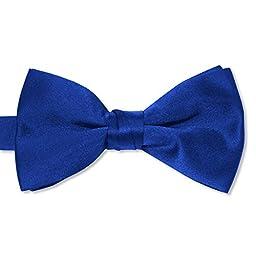 Satin Bow Tie (Mens, Royal)