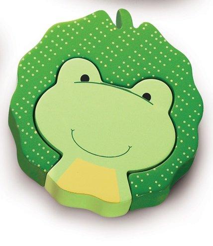 Mini 2 piece Puzzles-Frog