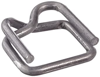"PAC Strapping B-4A 1/2"" Wire Buckle, 1000 Count"