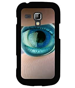 printtech Marble Eye Back Case Cover for Samsung Galaxy S Duos S7562