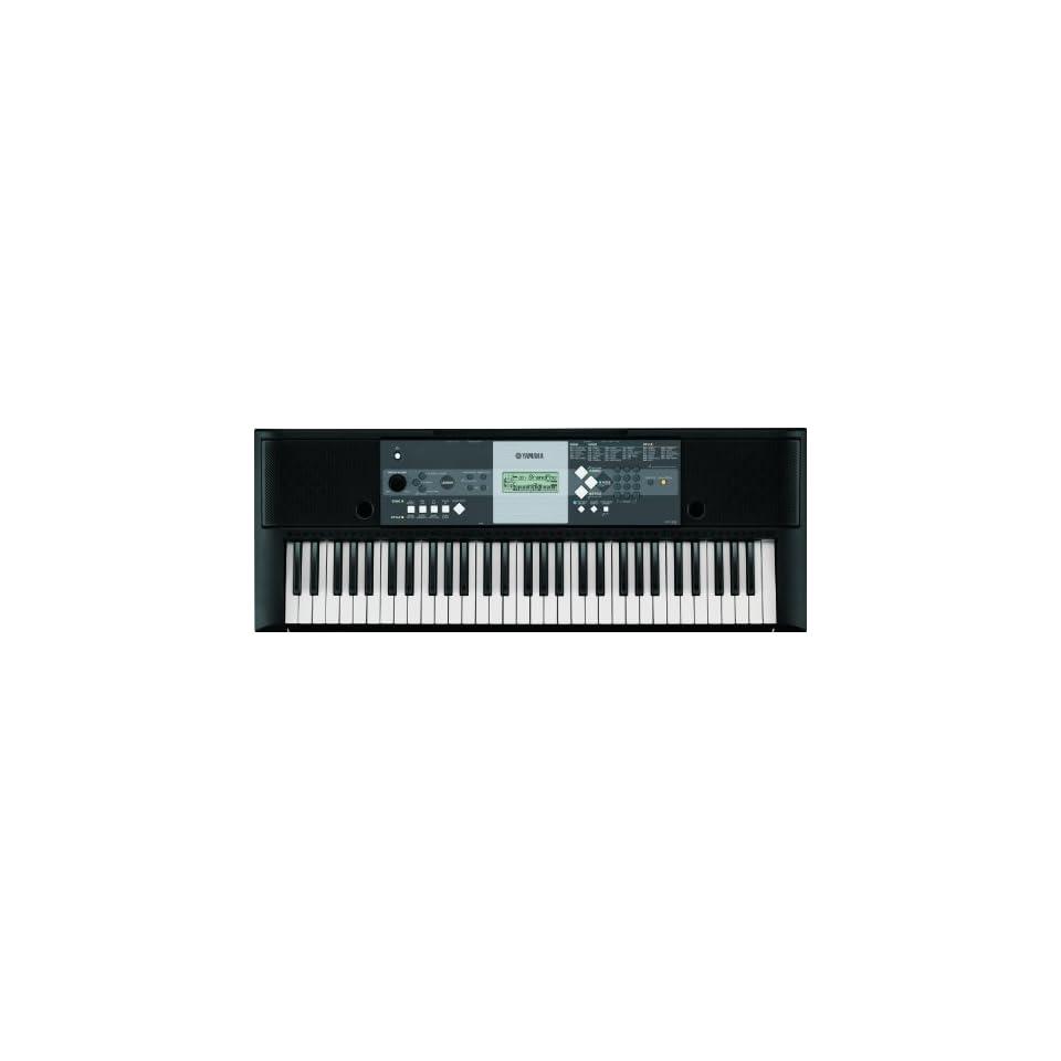 Yamaha YPT 230 61 Key Portable Keyboard Electronics