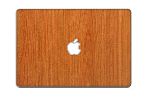 "iCarbons Light Wood Grain Vinyl Skin for MacBook Pro 15"" Retina Full Combo"