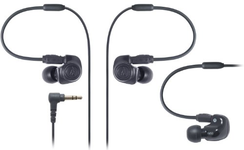 Audio-Technica Ath-Im50 Dual Symphonic-Driver In-Ear Monitor Headphones Black (Japan Import)