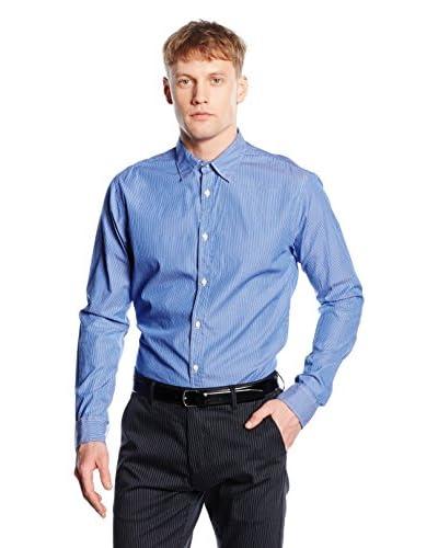 Scotch & Soda Camisa Hombre Azul Claro