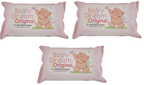 baby-dream-original-72-soft-baby-wipes-dermatologically-approved-3-pack