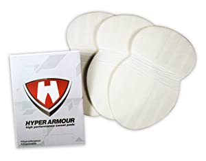 Hyper Armour Disposable Sweat Pads (24 pieces)