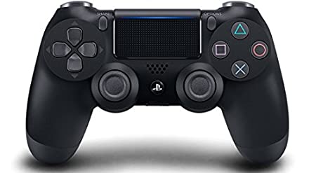 DualShock 4 Wireless Controller for PlayStation 4 - Jet Black (CUH-ZCT2)