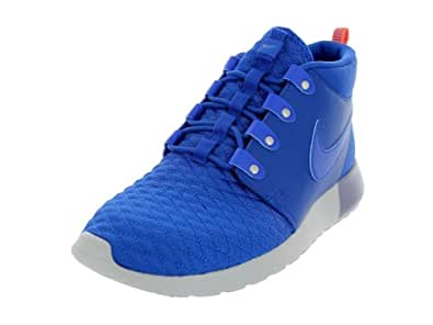 Nike Men's Roshe Run Sneakerboot Game Royal/Atomic Orange Running Shoe 9 Men US