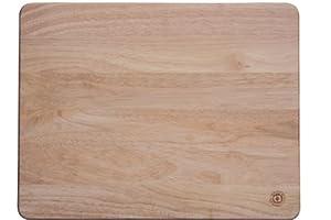 Apollo 45 x 35 cm Rubberwood Pastry Board, Brown