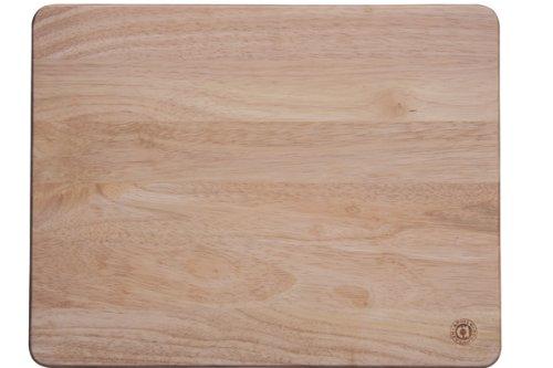 Apollo Housewares Ltd - Spianatoia in legno e gomma, 45x35 cm, colore: Marrone