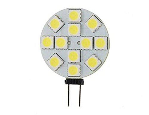 How Nice Dc12V 2.4W 12 5050 Smd Leds G4 Smd 60-70Lm 3000-3500K Warm White Light Led Bulb- Pack Of 10