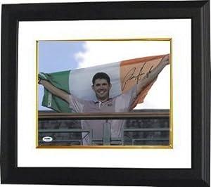 Buy Padraig Harrington Autographed Hand Signed 11x14 Photo Custom Framed Ryder Cup w  Irish Flag- PSA... by Hall of Fame Memorabilia