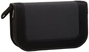 AmazonBasics CD / DVD Wallet 64 Disc Capacity Nylon Black