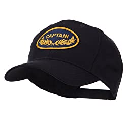 Oak Leaf Oval Shape Military Patch Cap - Captain OSFM