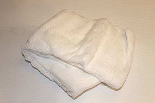 100% Cotton Cheesecloth Canning Straining waxing polishing 2 Sq yards(18 sq ft.) (Cheese Waxing compare prices)