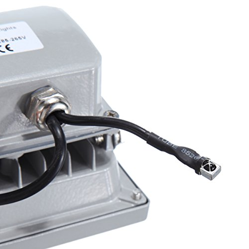 MountainNet 10W SMD Led RGB Plafonnier Flash Laver Stroboscope décoloré Lampe 16 Couleurs Jardin Parc