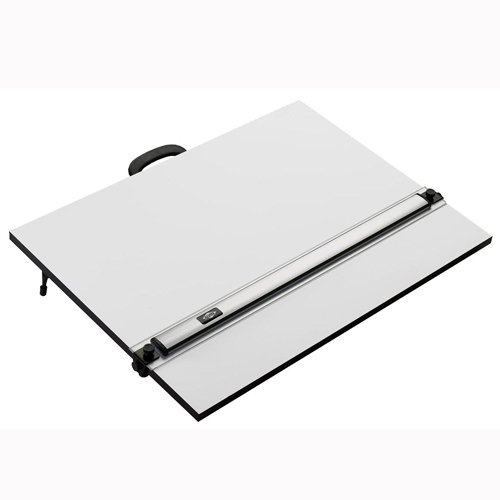 Alvin PXB Laminated Parallel Straightedge & White Drawing Board 23 in. x 31 in.