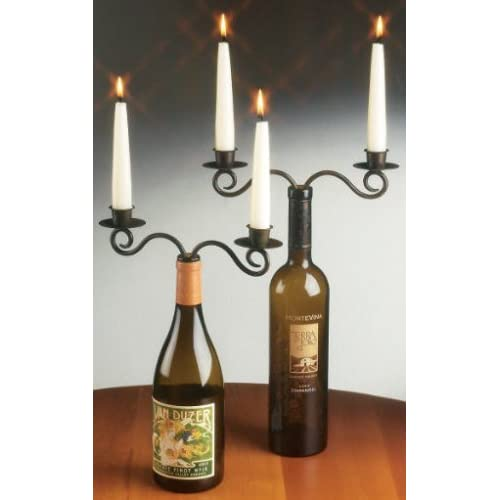 Recycle a wine bottle- Candelabra
