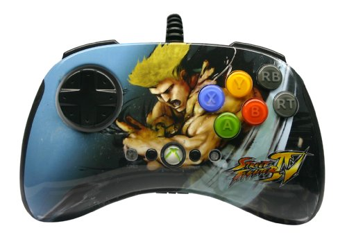 Mad Catz Street Fighter Iv Round 2 Fightpad - Guile (Xbox 360)