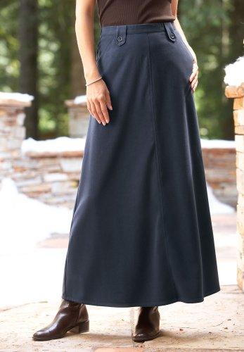 Long Moleskin Skirt - Buy Long Moleskin Skirt - Purchase Long Moleskin Skirt (Chadwicks, Chadwicks Skirts, Chadwicks Womens Skirts, Apparel, Departments, Women, Skirts, Womens Skirts)