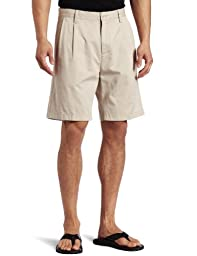 Nautica Men\'s Anc True Douple Pleat Front Short, True Stone, 33