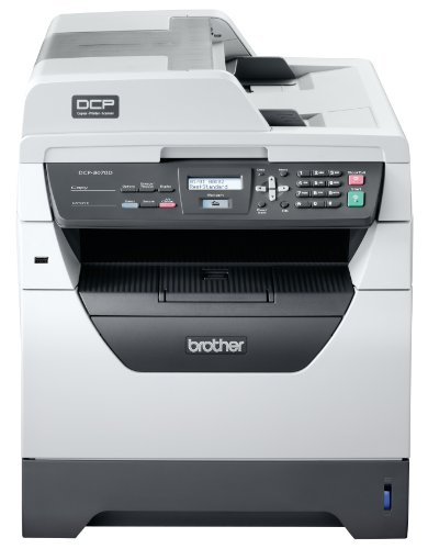 Brother DCP8070DN High Speed Mono Laser Multifunction Printer with Automatic Duplex Print and Network