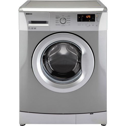 Beko WMB71231S 7kg 1200rpm Freestanding Washing Machine - Silver
