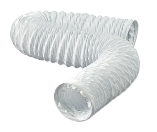 Dundas Jafine Fd420Zw Flexible White Vinyl Duct, 4-Inches By 20-Feet front-636083