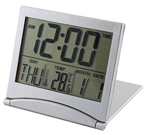 Amaranteen - Convenient Desk Digital Lcd Thermometer Calendar Alarm Clock