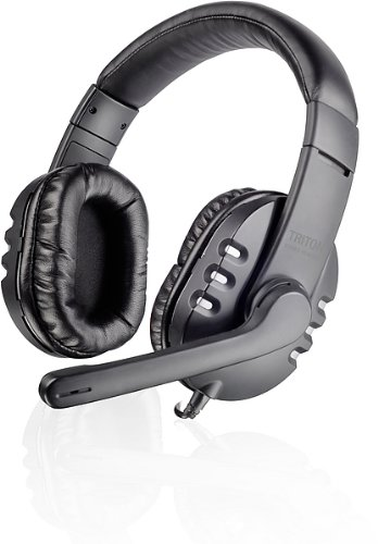 Speedlink Sl-8746-Ssv Triton Stereo Headset - Black/Silver