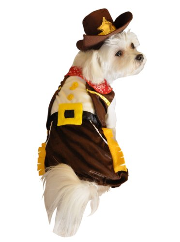 Anit Accessories Cowboy Dog Costume, 12-Inch
