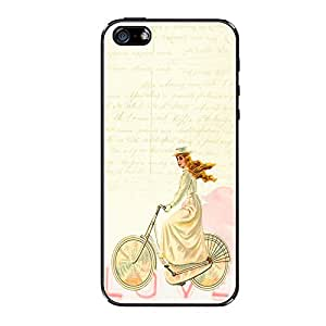 Vibhar printed case back cover for Apple iPhone 5c VintageHairGirl