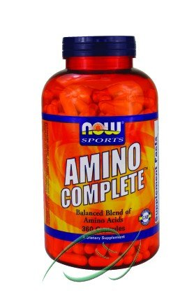 Amino Complete, Balanced Blend of Amino Acids, 360 Capsules, From NOW