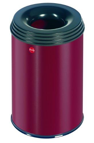 hailo-flame-extinguishing-wastepaper-basket-profiline-safe-15l-red