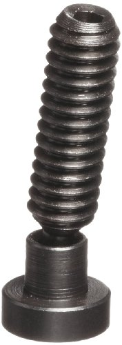 TE-CO 31223L Hex Socket Swivel Screw Clamp With Large Pad Black Oxide, 1/4-20 Thread x 1-1/11