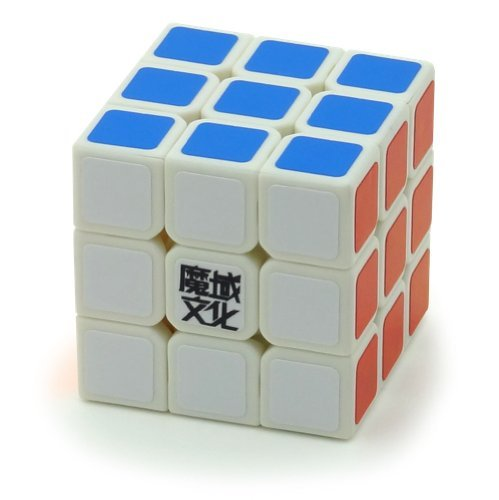 MoYu 3x3x3 YJ Weilong Plus 57 mm White Version 2 New V2 3x3 Speed Cube Puzzle - 1