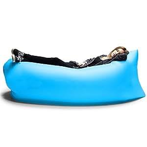 Amazon.com : Outdoor Inflatable Lounger, SunbaYouth Nylon Fabric Beach