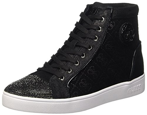 Guess Gloria, Scarpe a Collo Alto Donna, Nero, 37 EU