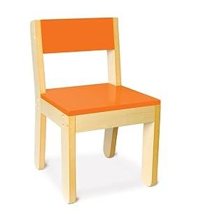 Little One's Chair in Orange by P'kolino
