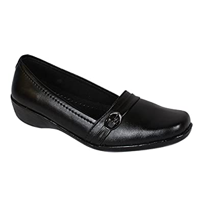 Footshez Women's Black Formal Bellies